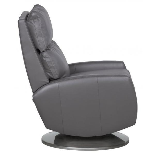 See Details - Aspire Manual Push Back Swivel Recline with Cymbal Base