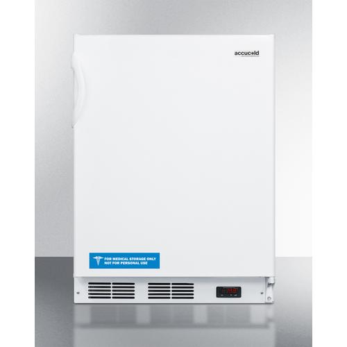 Commercial ADA Compliant Built-in Medical All-freezer Capable of -25 C Operation