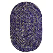 Team Spirit Purple Gold Braided Rugs