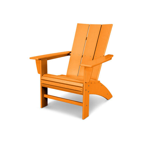Tangerine Modern Curveback Adirondack Chair
