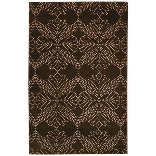 Lovely-Grace Chocolate - Rectangle - 7' x 9'