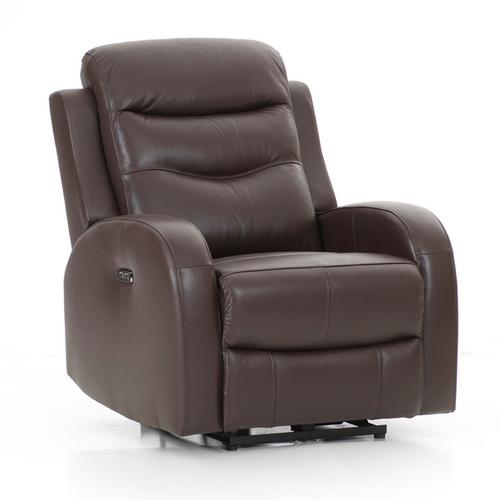 Milano Power Reclining Chair  Chocolate