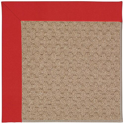 Creative Concepts-Grassy Mtn. Canvas Jockey Red Machine Tufted Rugs