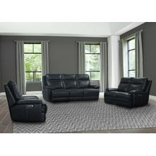 See Details - PAXTON - NAVY Power Reclining Collection