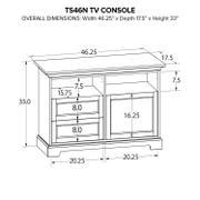TS46N Custom TV Console Product Image
