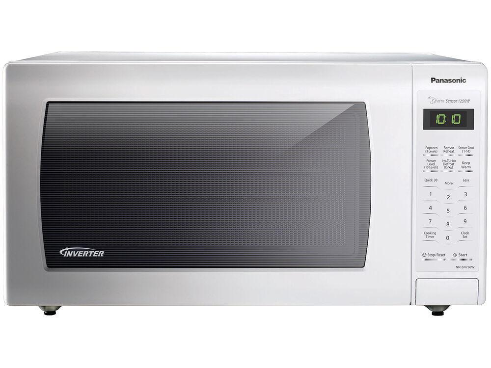Panasonic1.6 Cu. Ft. Countertop Microwave Oven With Inverter Technology - White - Nn-Sn736w