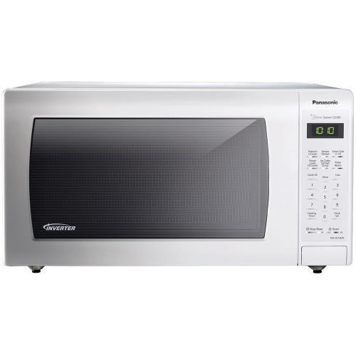 Panasonic - 1.6 Cu. Ft. Built-In/Countertop Microwave Oven with Inverter Technology™ - White - NN-SN736W