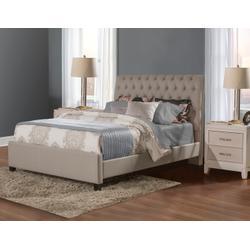 Napleton King Bed - Dove Gray