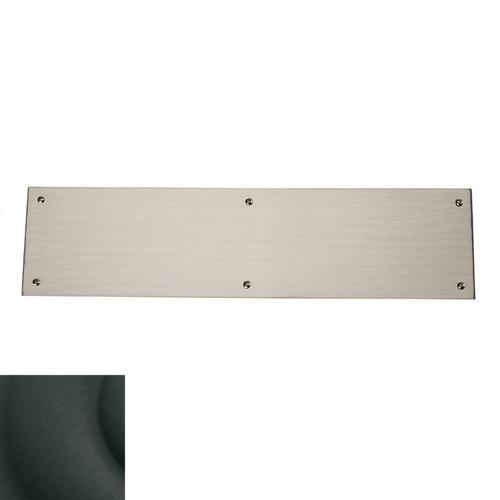 Satin Black Square Edge Push Plate