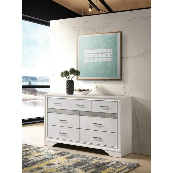 See Details - Miranda Modern Seven-drawer Dresser With Hidden Jewelry Tray