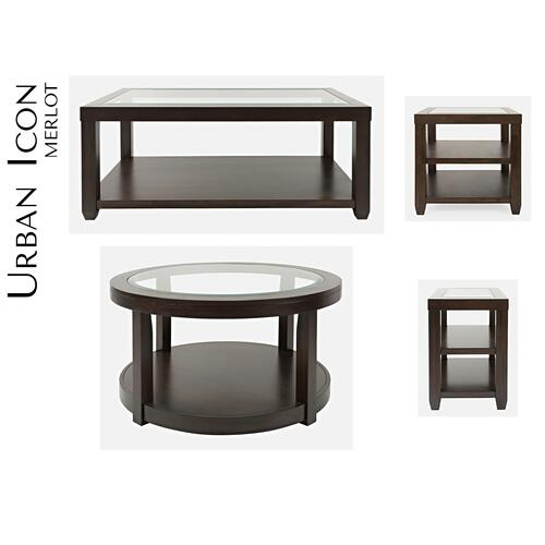 Urban Icon Rect. Cocktail Table