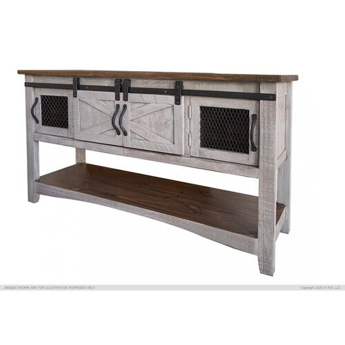 Sofa Table 4 Doors