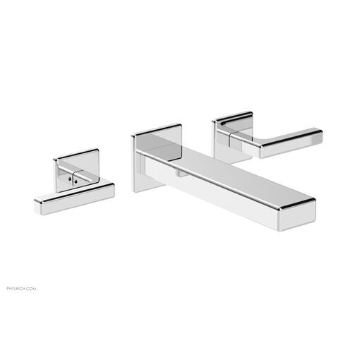 MIX Wall Lavatory Set - Lever Handles 290-12 - Polished Chrome