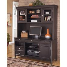 See Details - Carlyle - Black 2 Piece Home Office Set