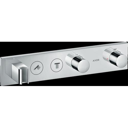Chrome Thermostatic Module Trim Select for 2 Functions