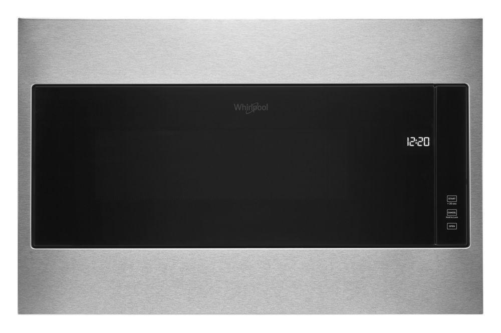 """Whirlpool1.1 Cu. Ft. Built-In Microwave With Standard Trim Kit - 19-1/8"""" Height"""