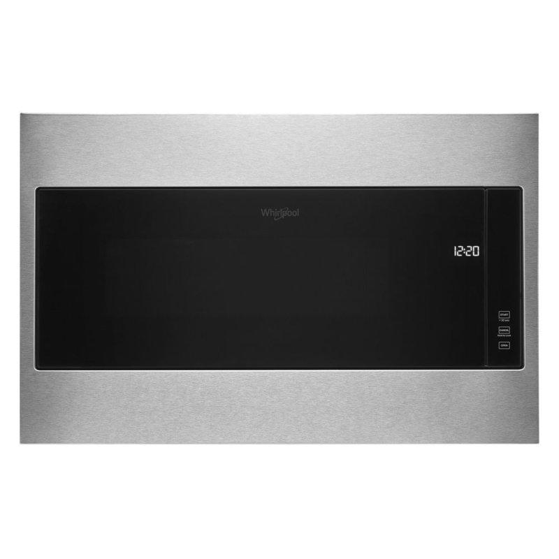 """1.1 cu. ft. Built-In Microwave with Standard Trim Kit - 19-1/8"""" Height"""