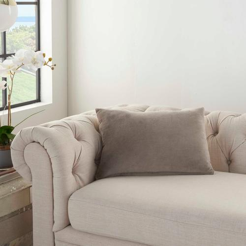 """Life Styles Ss900 Taupe 14"""" X 20"""" Throw Pillow"""