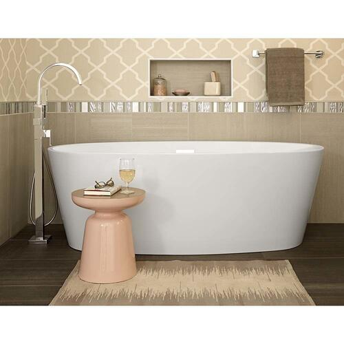 American Standard - Coastal - Serin Freestanding Soaker Tub  American Standard - White