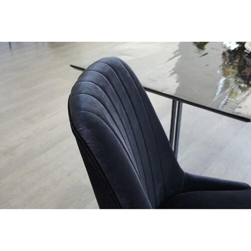 Mia Dining Chair Black-m2