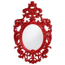 View Product - Dorsiere Mirror - Glossy Red
