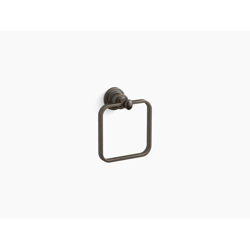 Oil-rubbed Bronze Towel Ring