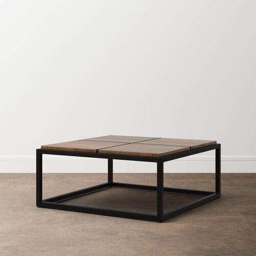 Midtown Maple Small Square Cocktail Table