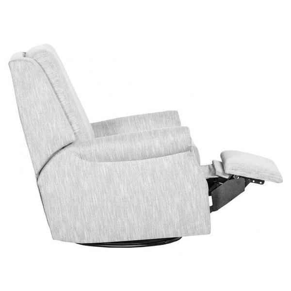 See Details - Roll Arm Manual Push Back Swivel Glider Recline
