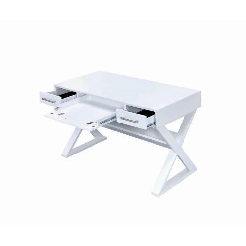 Casual White Writing Desk