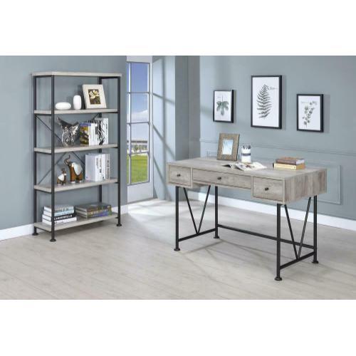 Coaster - Guthrie Industrial Grey Driftwood Writing Desk