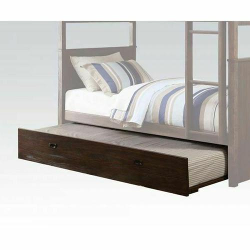 ACME Hector Trundle (Twin) - 38027 - Antique Charcoal Brown
