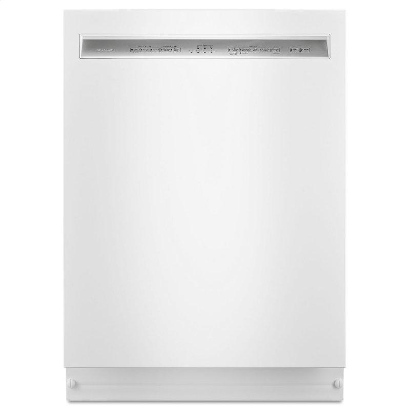 46 DBA Dishwasher with ProWash™, Front Control White