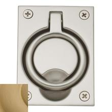 View Product - Vintage Brass Flush Ring Pull