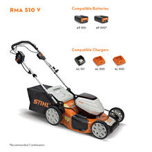 The first self-propelled lawn mower in the STIHL AP battery series delivers a powerful and convenient mowing experience for the suburban homeowner.