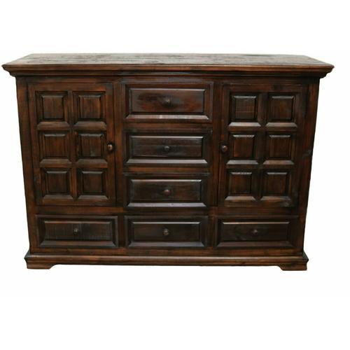 Million Dollar Rustic - Brown Coliseo Dresser