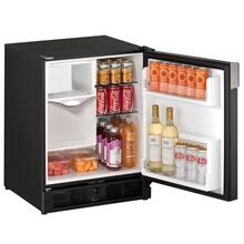 "See Details - 21"" Refrigerator/ice Maker With Black Solid Finish (115 V/60 Hz Volts /60 Hz Hz)"