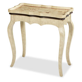 Rect. Accent Table, White