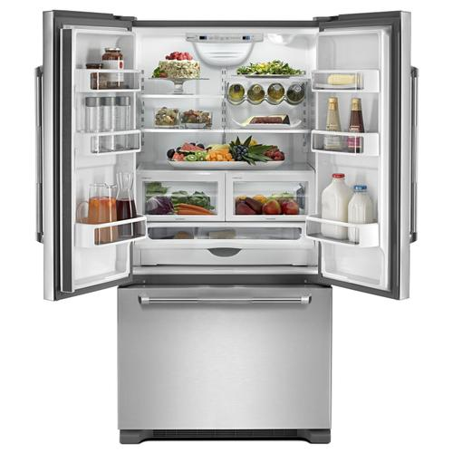 """Product Image - 72"""" Counter Depth French Door Refrigerator Pro Style Stainless"""