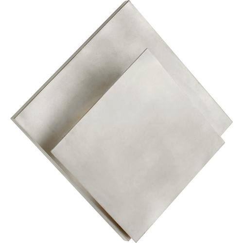AERIN Naila LED 14 inch Burnished Silver Leaf Square Wall Washer Wall Light