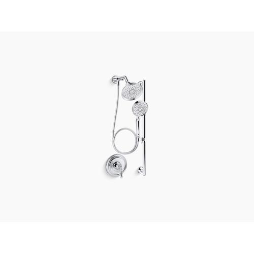 Vibrant Brushed Nickel Essentials Performance Showering Package, 1.75 Gpm