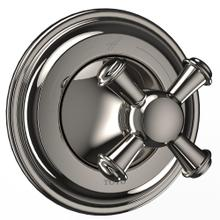 Vivian™ Two-Way Diverter Trim with Off - Cross Handle - Polished Nickel