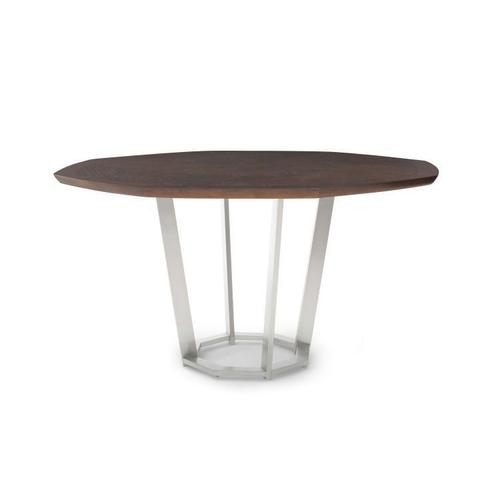 Product Image - Paragon Club Sunburst Dining Table With Metal Base