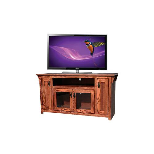 "O-M239 Mission Oak 60"" TV Console"