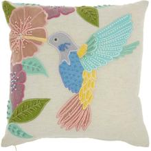 "Plushlines Ch425 Multicolor 18"" X 18"" Throw Pillow"