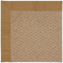 "Creative Concepts-Raffia Dupione Caramel - Rectangle - 24"" x 36"""