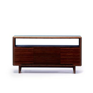 Currant Media Unit, Black Walnut