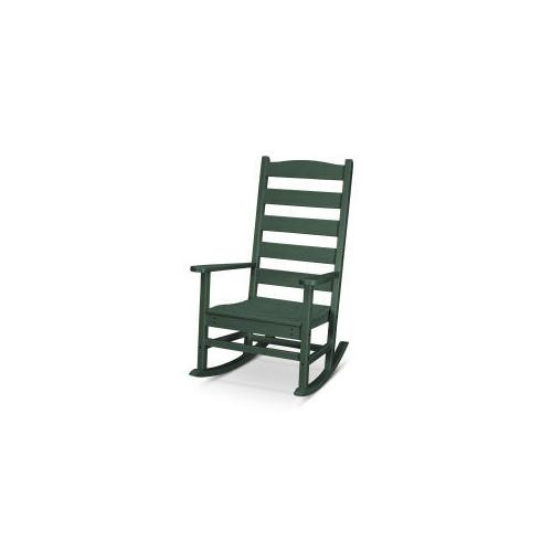 Polywood Furnishings - Shaker Porch Rocking Chair in Green