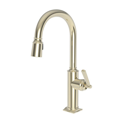 Newport Brass - French Gold - PVD Pull-down Kitchen Faucet
