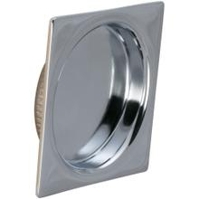 Product Image - Square Cup Pull in (US26 Polished Chrome Plated)