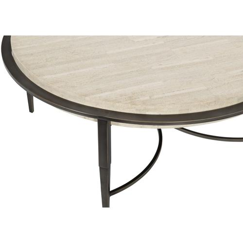 Bernhardt - Barclay Metal Round Cocktail Table